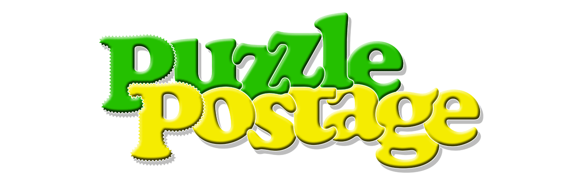 Puzzle Postage Logo Banner